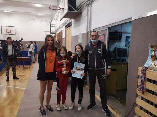 Ekipno prvenstvo regiona za kadete (Kruševac 21. feb 2021)